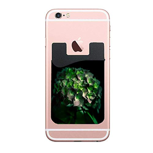 Cellcardphone Fiore Verde Premium Cell Phone Card Holder Sticker Firmly Adhesive Stick Back Cover Credit Card Holder Pouch Pocket Wallet for Mobile Cell Phones 2 - Light Fiori 2