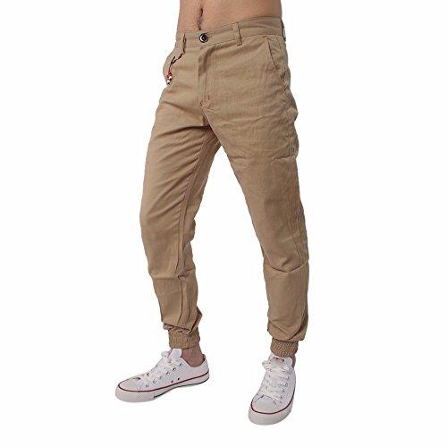 Larghi Shirt Abbigliamento Comodi Sportivi Uomo Sportivo Khaki Da Pantaloni Casual Harem Lavoro Jogger Beikoard T 5qw177