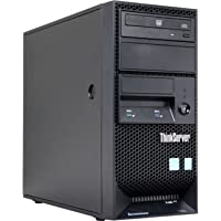 2016 Lenovo ThinkServer TS140 High Performance Tower Server, Intel Core i3-4150 3.5 GHz Dual Core, 4GB RAM, 3 SATA HDD Bays, Onboard basic SATA RAID controller, Intel HD Graphics 4400 4GB