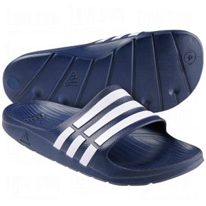 Adidas MenS Duramo Slide Sandals, Blue, 9 M US