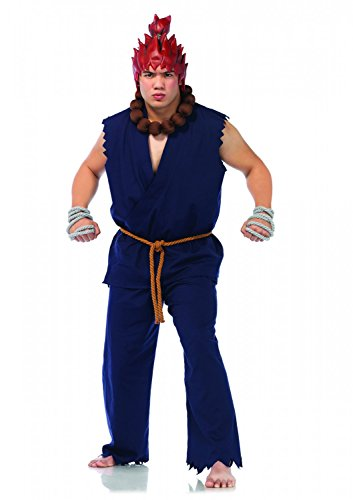 Men's 5 pc Akuma Costume