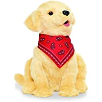 JOY FOR ALL B9108 Ageless Innovation | Companion Pets | Golden Pup | Lifelike & Realistic | For Older Adults, Alzheimer…
