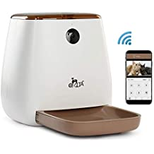 Orita 12 Meals SmartFeeder,Auto Pet Dog and Cat Feeder, 1080P HD WiFi Pet Camera with Night Vision for Pet Viewing,Compatible with Alexa,2-Way Audio Communication