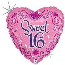 18 Sparkles Mylar Foil Balloon