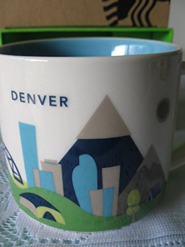 Starbucks You Are Here Collection DENVER Mug - New