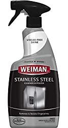 Weiman Stainless Steel Cleaner And Polish 22 Fluid Ounce Protects Appliances From Fingerprints And Leaves A Streak Free Shine For Refrigerator Dishwasher Oven Grill