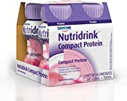Nutridrink Compact Pro Morango com 4 unidades de 125ml Danone Nutricia