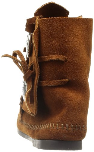 Two Minnetonka Mocasin para Botas 442 Mujer Marr Button 1dZwdpxWqn