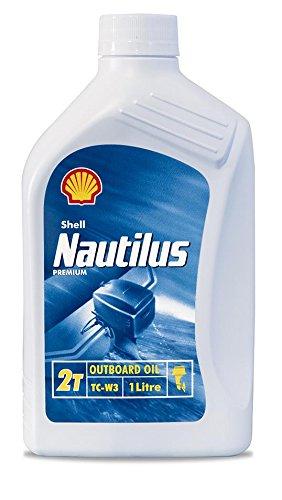 SHELL Olio Nautilus Premium 2T Outb A1Ew 1L Lubrificanti Moto Scooter