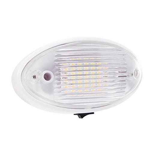 Light Fixture For Vintage Camper: 12V RV LED Light Fixture Trailer Camper Boat Ceiling Porch