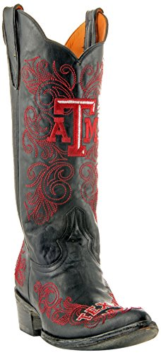 NCAA Texas A&M Aggies Women's 13-Inch Gameday Boots B00PJMDSRQ 7 B (M) US|Black