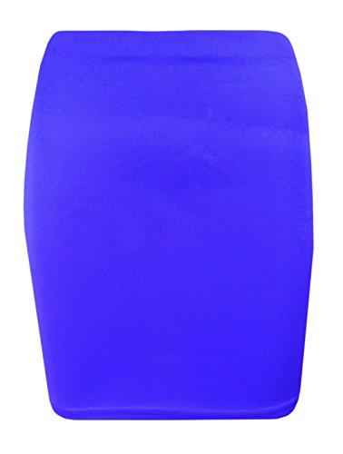 Gems Clothing - Falda - Estuche - para mujer azul real