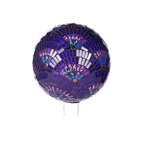 (Goose Creek Colorful Mosaic Glass Gazing Ball 10