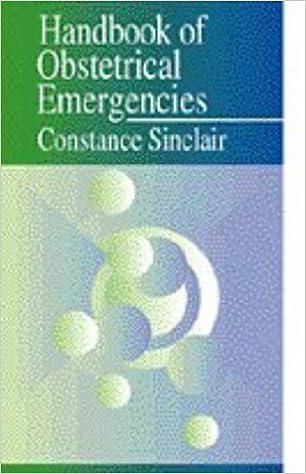 handbook of obstetrical emergencies