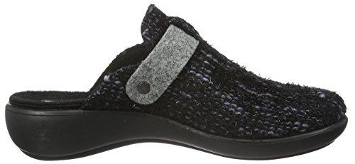 Romika Damen Ibiza Home 316 Pantoffeln Grau (grau 710)