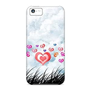 Anti-scratch And Shatterproof Joy Of Love Phone Case For Iphone 5c/ High Quality Tpu Case by mcsharks
