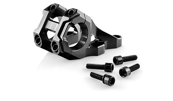 V BIKE - 15284 : Potencia manillar aluminio descenso regulable 31,8mm bici bicicleta: Amazon.es: Coche y moto