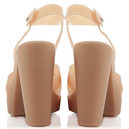 Melissa De Para pink Sandalias Rosa Patent Vestir Mujer r5qrZg