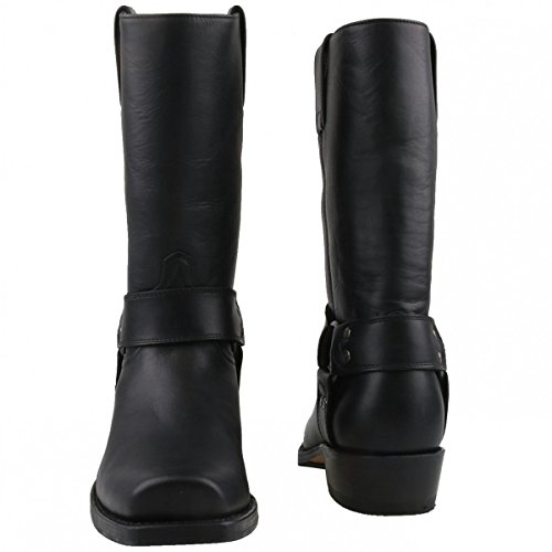 Black Sendra Height 8833 Boot Biker OnnzfPW