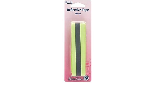 H826-M per pack Hemline Sew On Reflective Webbing Tape