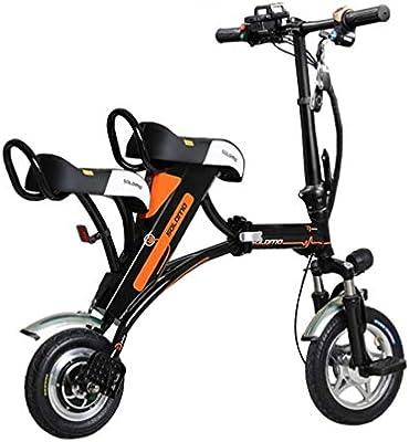 CYGGL Parent-Child Electric Car Adultos Scooter eléctrico Plegable ...