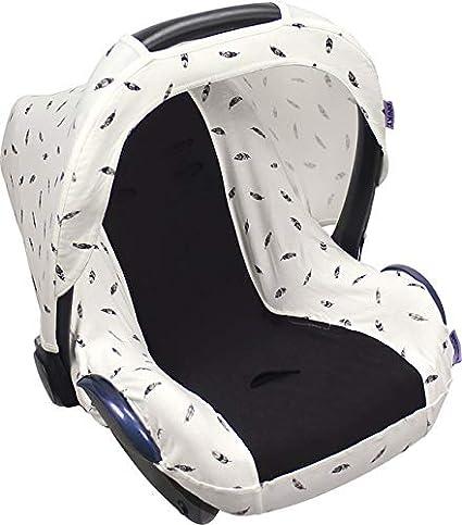 DOOKY Universal-Schonbezug für Babyschale 0//0 SILVER STARS wie Maxi Cosi etc