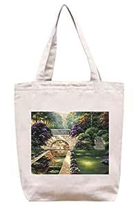 Parque Natural–Algodón Canvas Tote Bag