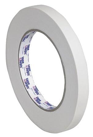 "Tape Logic T9332600 #2600 Masking Tape, 60 yds Length x 1/2"" Width, Natural (Case of 72)"