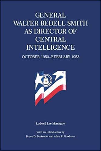 Book General Walter Bedell Smith as Director of Central Intelligence, October 1950–February 1953