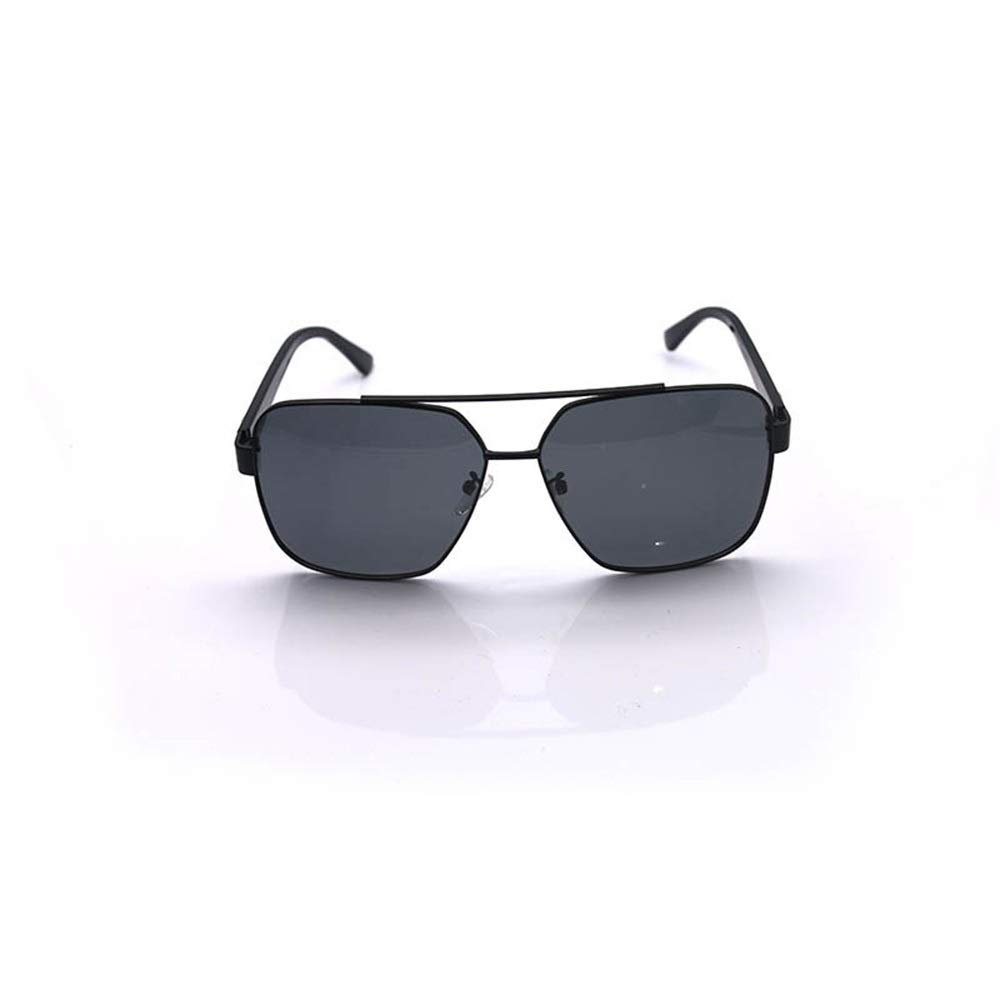 Saalising Mens Fashion Polarized Sunglasses Color : Gold Frame//Brwon Vintage Retro Square Mirrored Lens