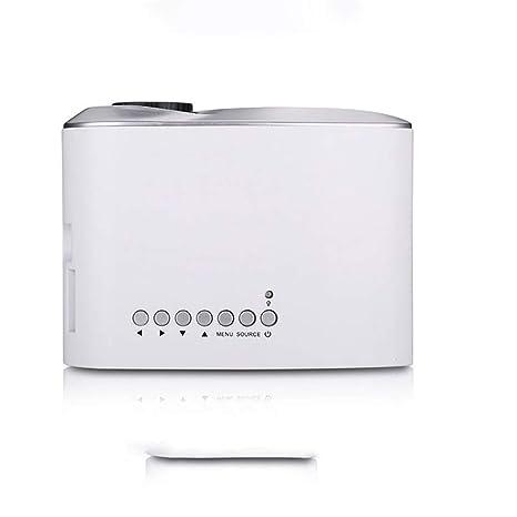 Lzz Proyector, Mini proyector proyector de Video de 1800 lúmenes ...