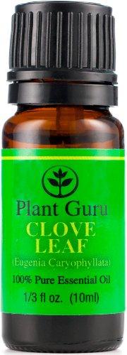 Гвоздика Leaf эфирного масла. 10 мл. 100% Pure, неразбавленном виде, терапевтической степени чистоты.