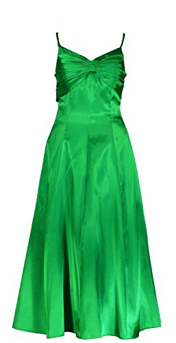 Abendkleider knielang grun