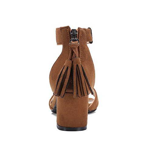 Inconnu 1TO9, Bout Ouvert Femme Camel