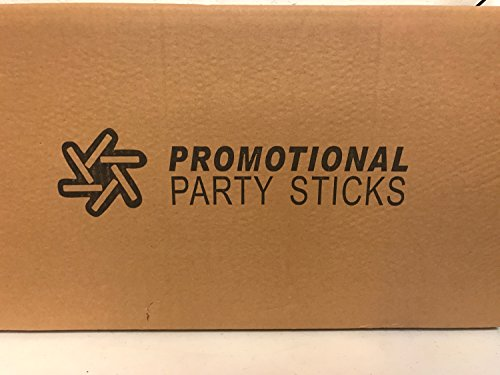 Personalized 18'' Custom Multicolor LED Foam Sticks, Customize the LED Glow Sticks with your own text or logo for a memorable celebration, 50 Pcs, 3 Mode Lighting by Promotional Party Sticks (Image #6)