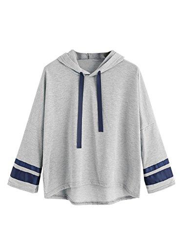 Varsity Hoody Sweatshirt - 4