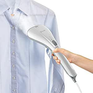 SALAV StrongFastContinuous Steam Ready in 35s Portable Handheld Travel Steamer Lightweight with Dual Heat with Brush