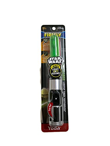 Firefly Star Wars Yoda Light Saber Soft Toothbrush (Pack of 1)