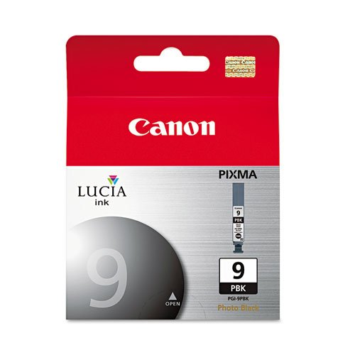 Canon - PGI9PBK (PGI-9) Lucia Ink Tank, Photo Black PGI9PBK (DMi EA Photo #1