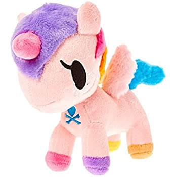 Tokidoki Neon Star Trixie Plush Toy Rainbow