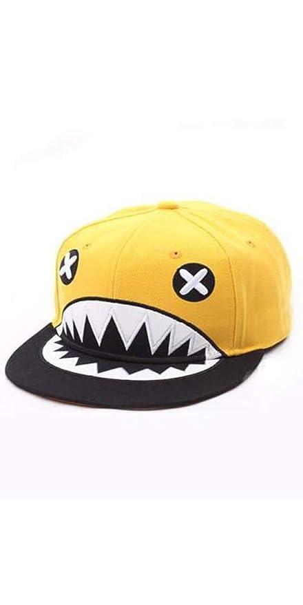 fd1a4fb9 Amazon.com : Korean Kpop Fashion Style El Stinko Yellow Monster Hat  Snapback Cap Running Man : Everything Else