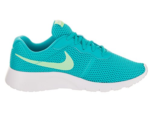 NIKE Kids Tanjun BR (GS) ChlorineBlue/FreshMint/White Running Shoe 4.5 Kids US by NIKE (Image #5)