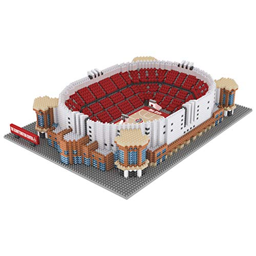 FOCO NCAA Ohio State Buckeyes 3D BRXLZ Basketball Arena Stadium Building Block Set3D BRXLZ Basketball Arena Stadium Building Block Set, Team Color, One Size
