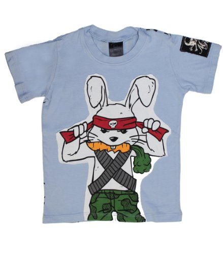 Rambo Bunny T-Shirt for Boys - Cute for Easter