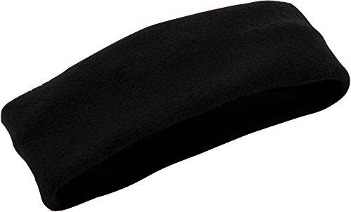 Augusta Sportswear Chill Fleece Headband/Earband OS Black