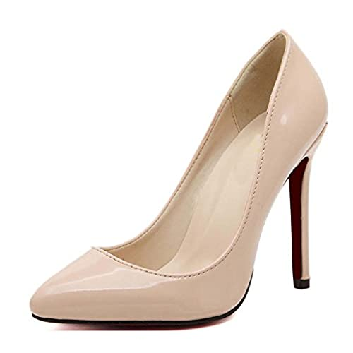 f2454d897bf1 CAMSSOO Women s Sexy Fashion Shallow Pointed Toe High Heels Pumps Dress  Shoes cheap