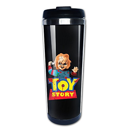 Chucky A Toy Story Parody Stainless Steel Vacuum Coffee C...