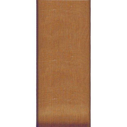 - Offray Lady Chiffon Sheer Craft Ribbon, 7/8-Inch Wide by 15-Yard Spool, Turftan