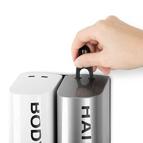 Double Bottle Shower Dispenser - key