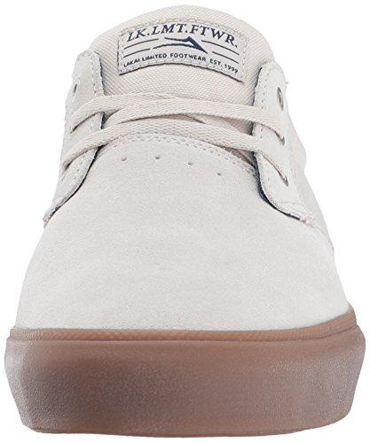 Scarpe Da Skate Lakai Daly In Camoscio Bianco